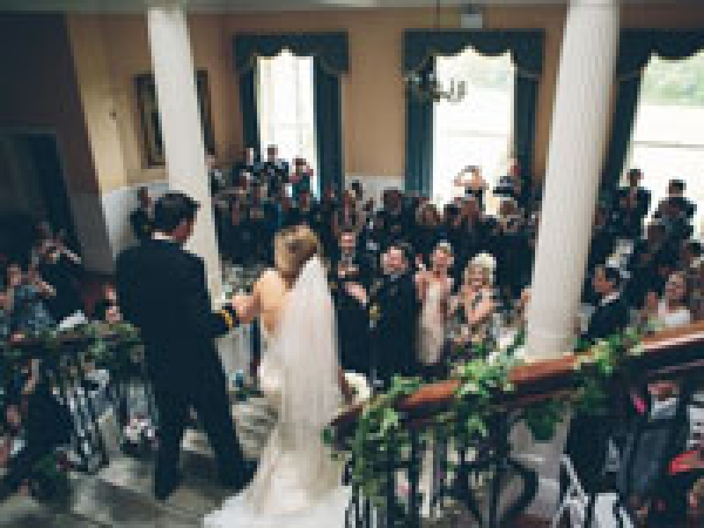 Real Wedding At Scorrier House, Cornwall