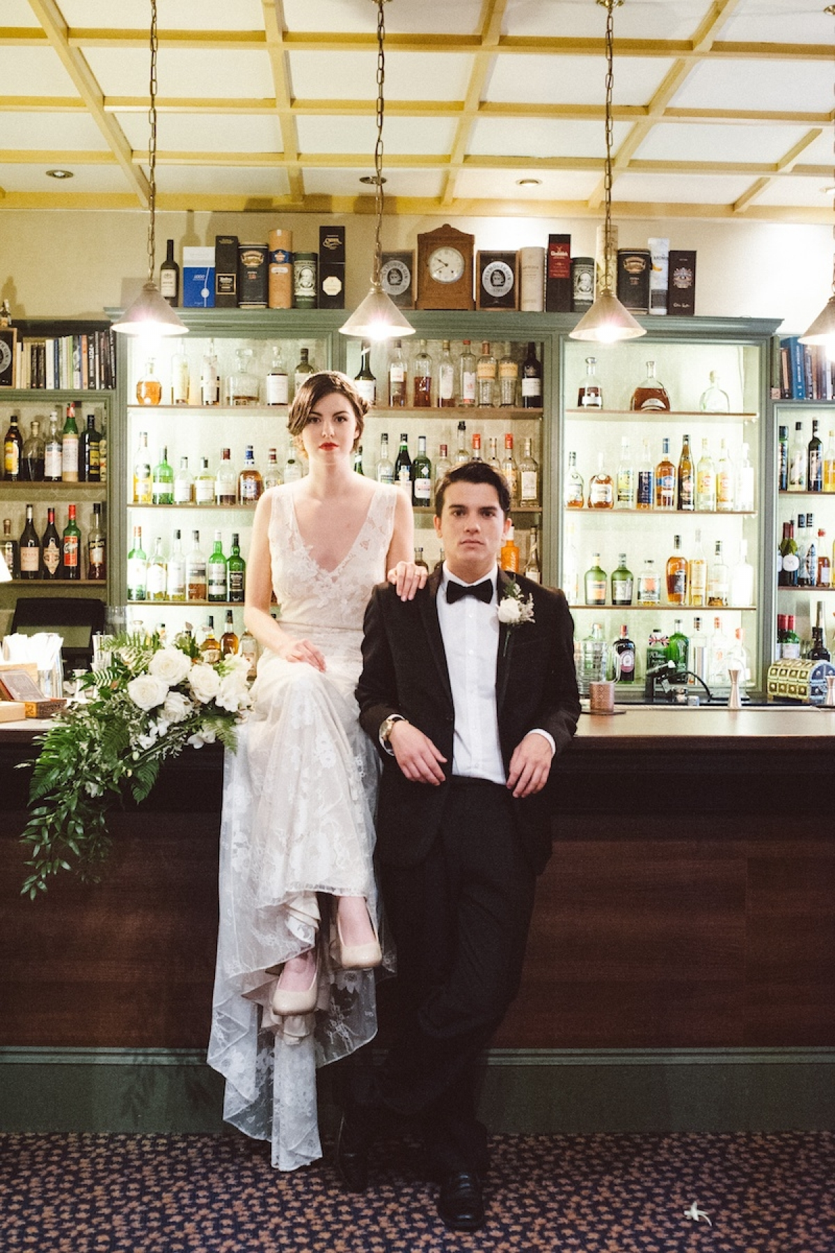 1930s wedding style