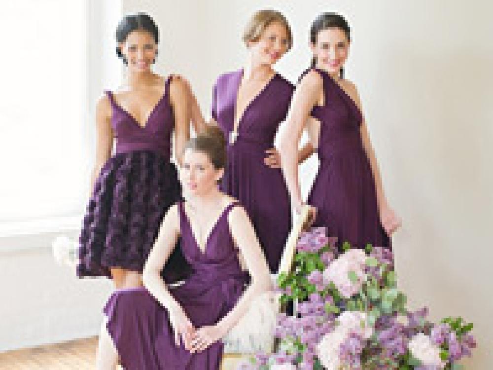 Bridesmaids Dresses In Cornwall