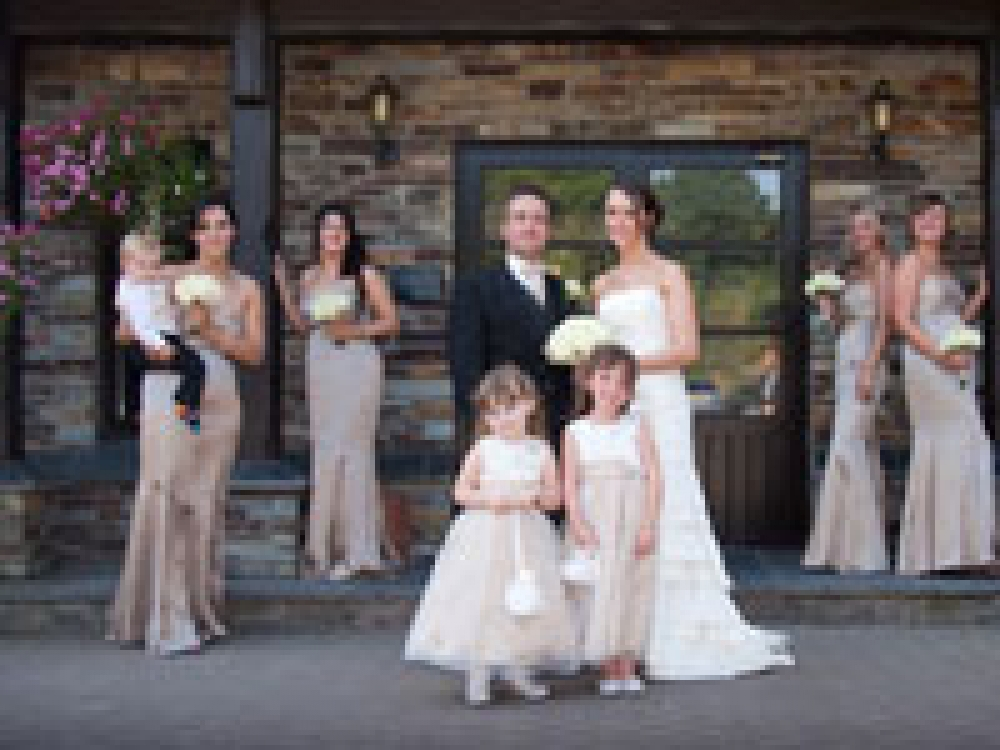 Real Wedding At Lostwithiel Golf And Country Club