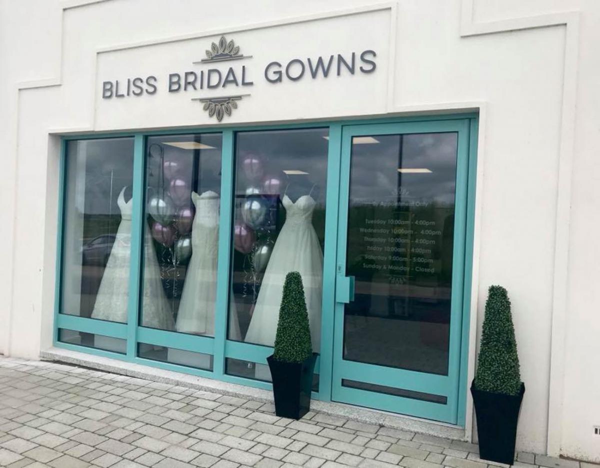 62774368c824 Bridal boutique moves to bigger, better premises