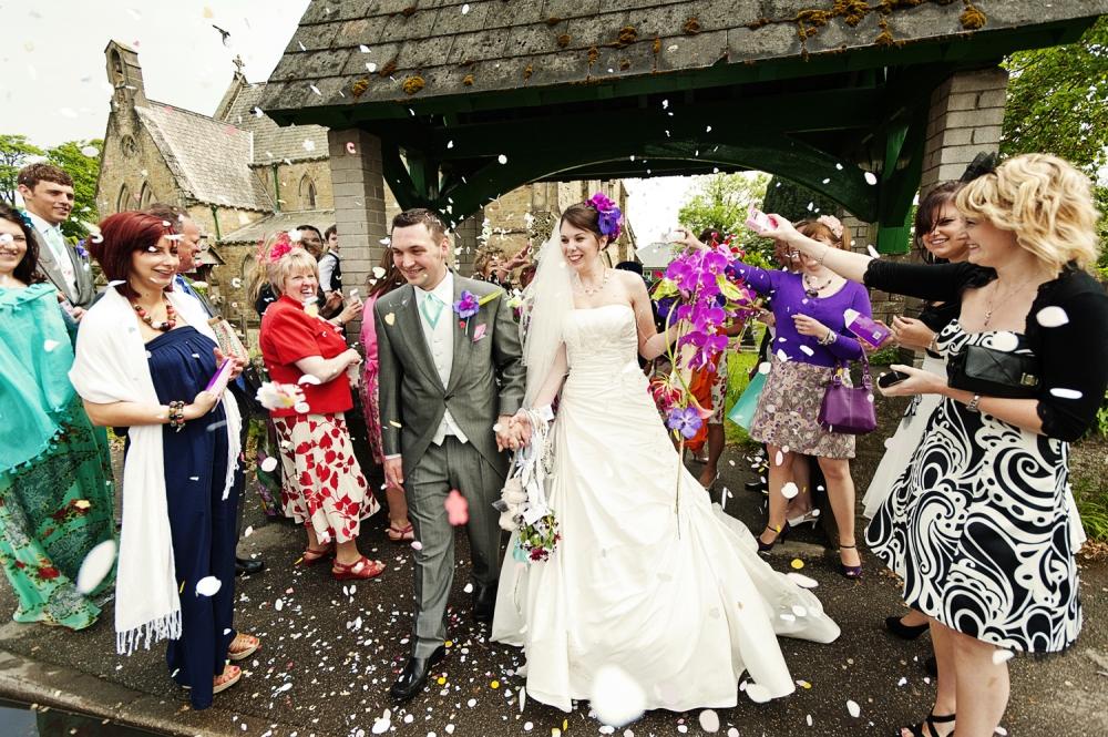 Real Wedding At The Glendorgal Hotel, Cornwall