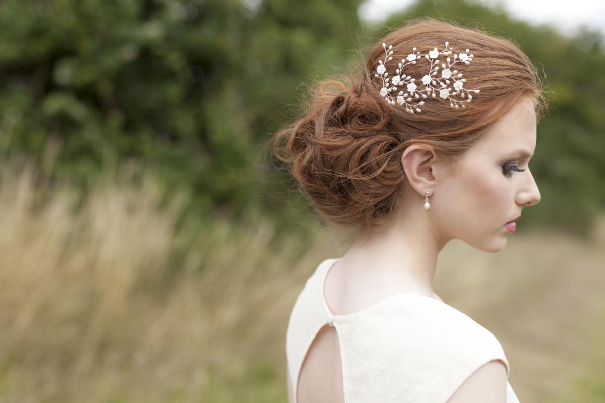 Hair accessories launceston - Beautiful Bridal Accessories By Vivien J