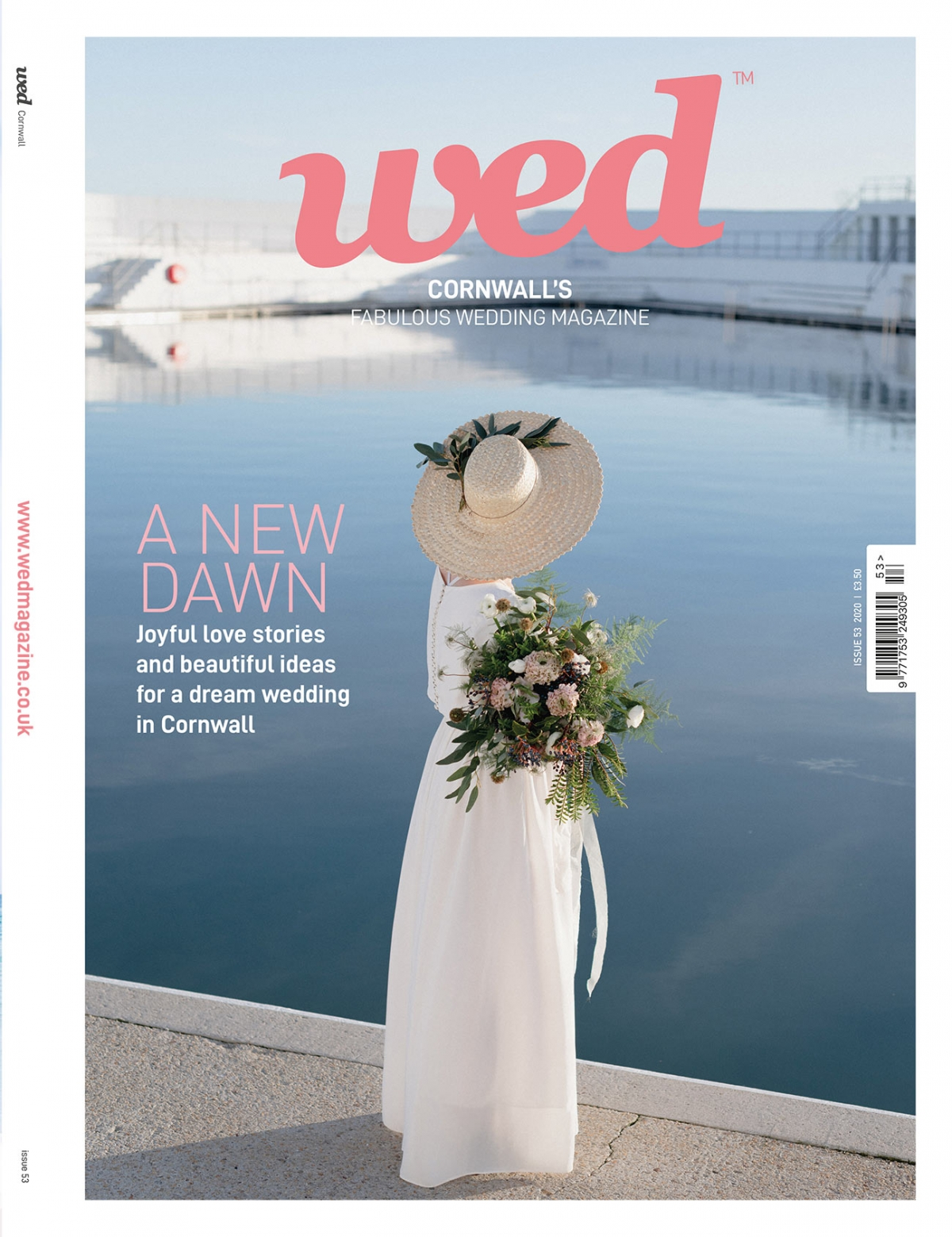 Order a print copy of Cornwall Wed Magazine - Issue 53