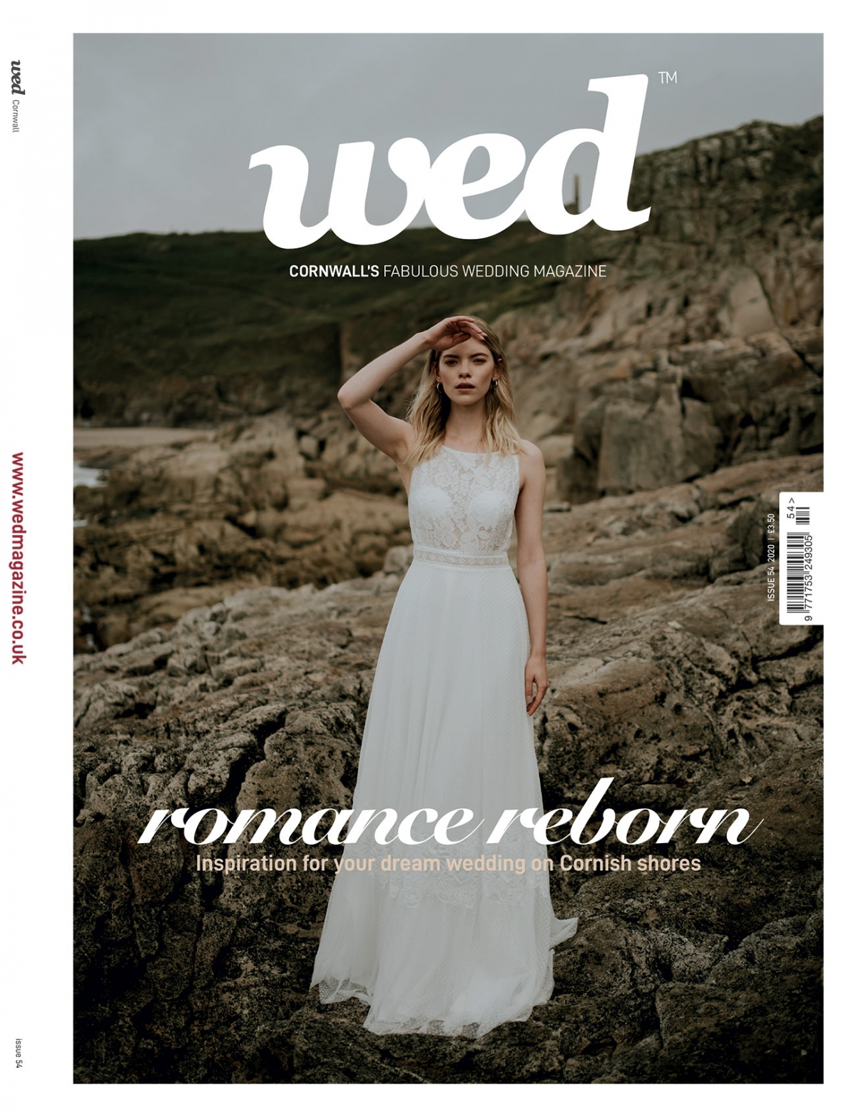 Order a print copy of Cornwall Wed Magazine - Issue 54