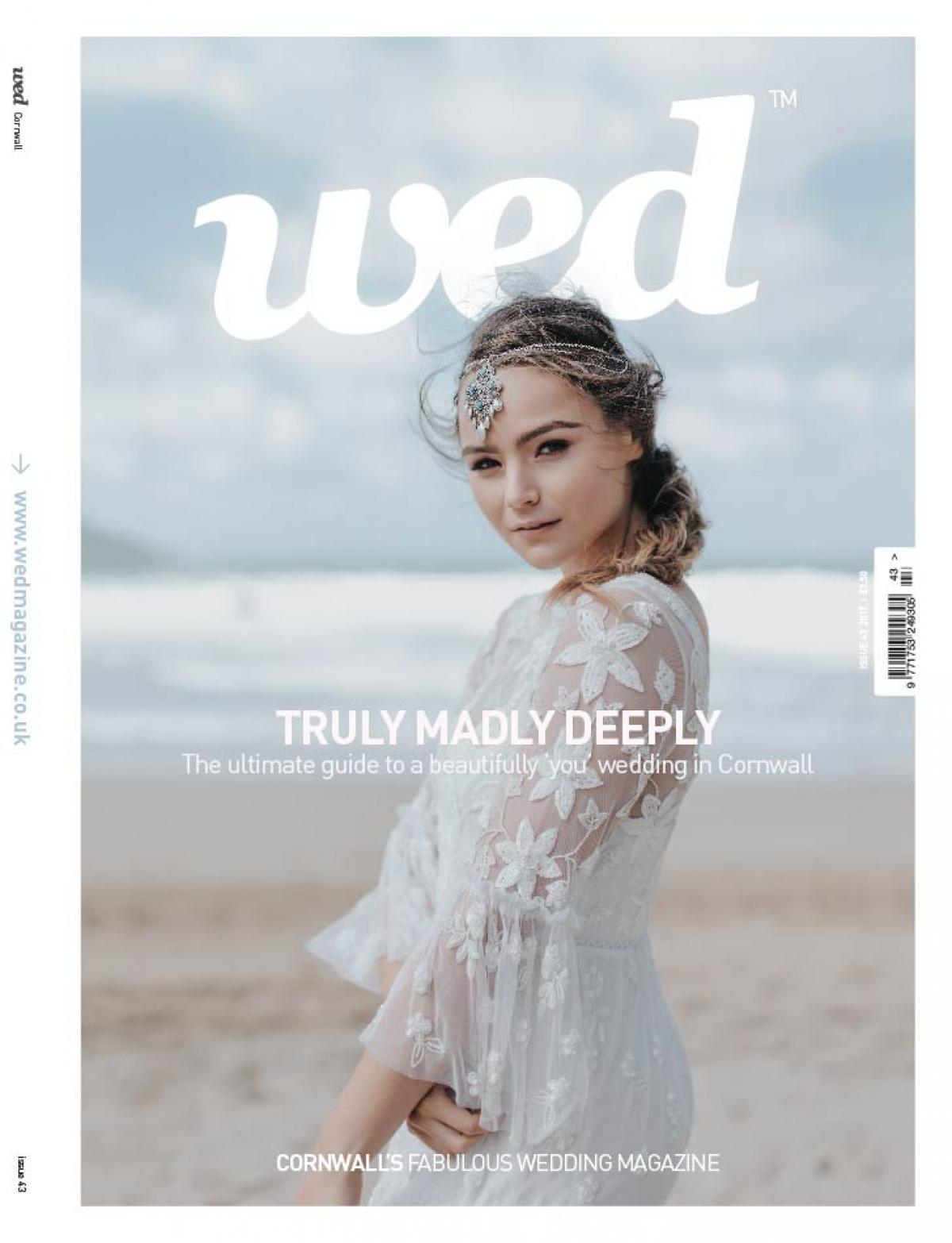 Weddings cornwall weddings devon wed magazine order a print copy of cornwall wed magazine issue 43 junglespirit Choice Image