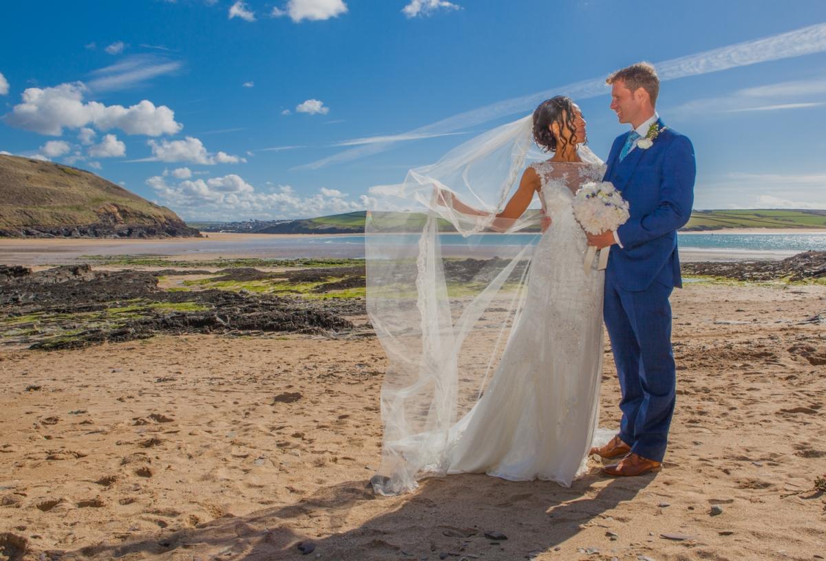 Wedding At Port Isaac Village Hall, Cornwall