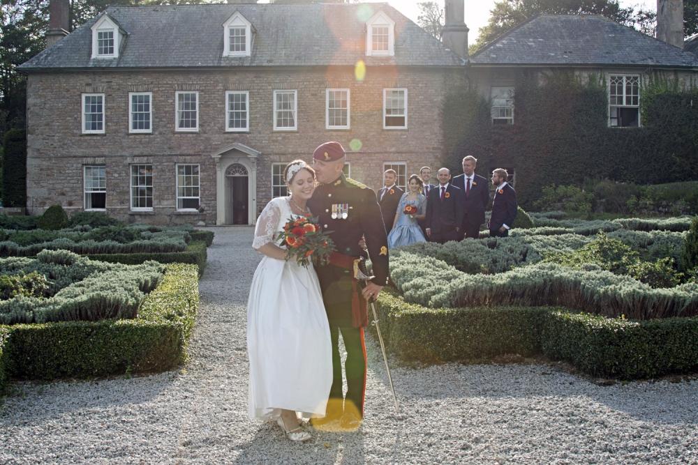 Real Wedding At Trereife Park, Cornwall