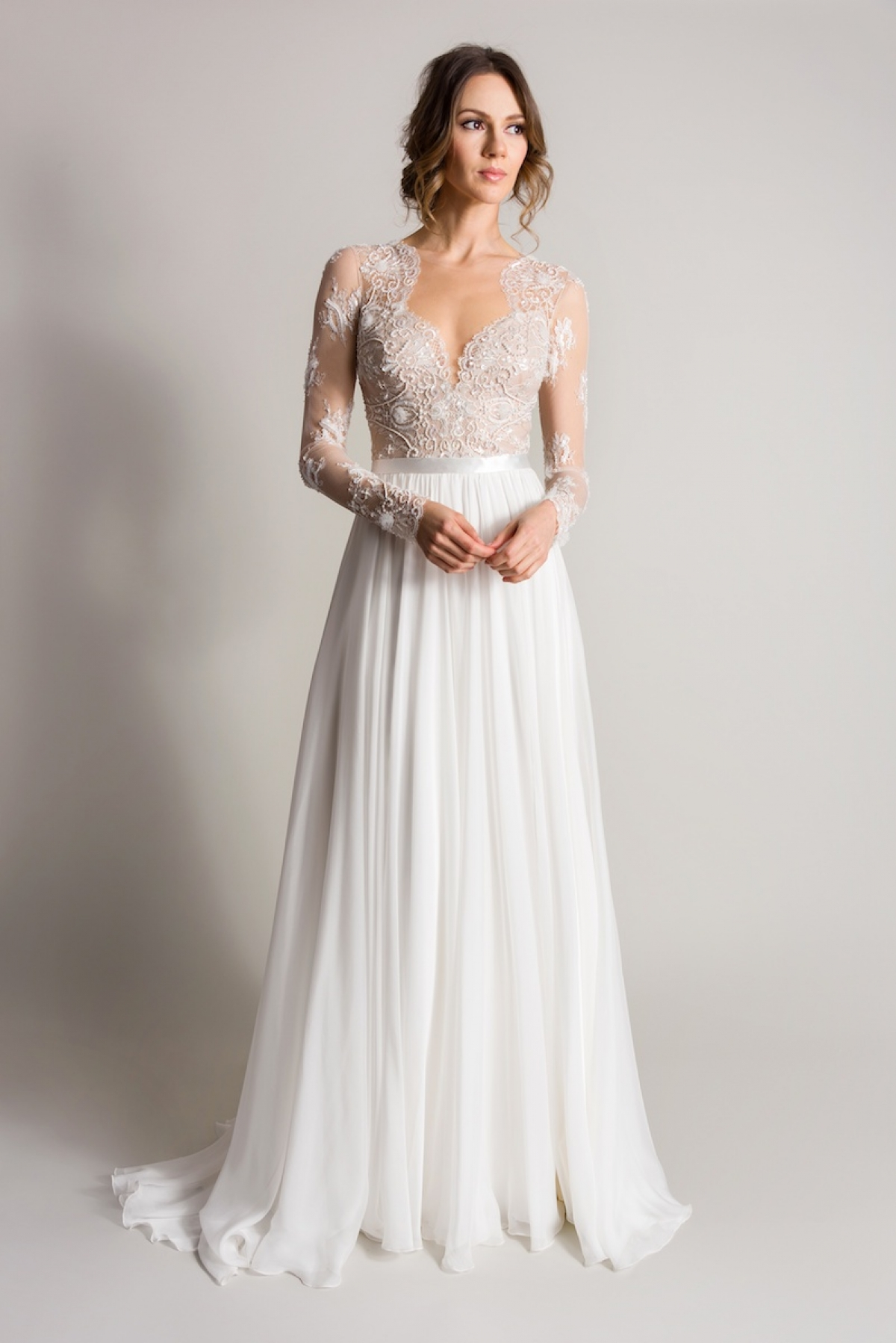 Nude Wedding Dresses