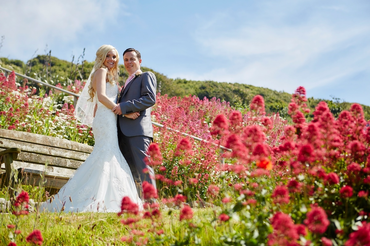 Wedding At Polhawn Fort, Cornwall