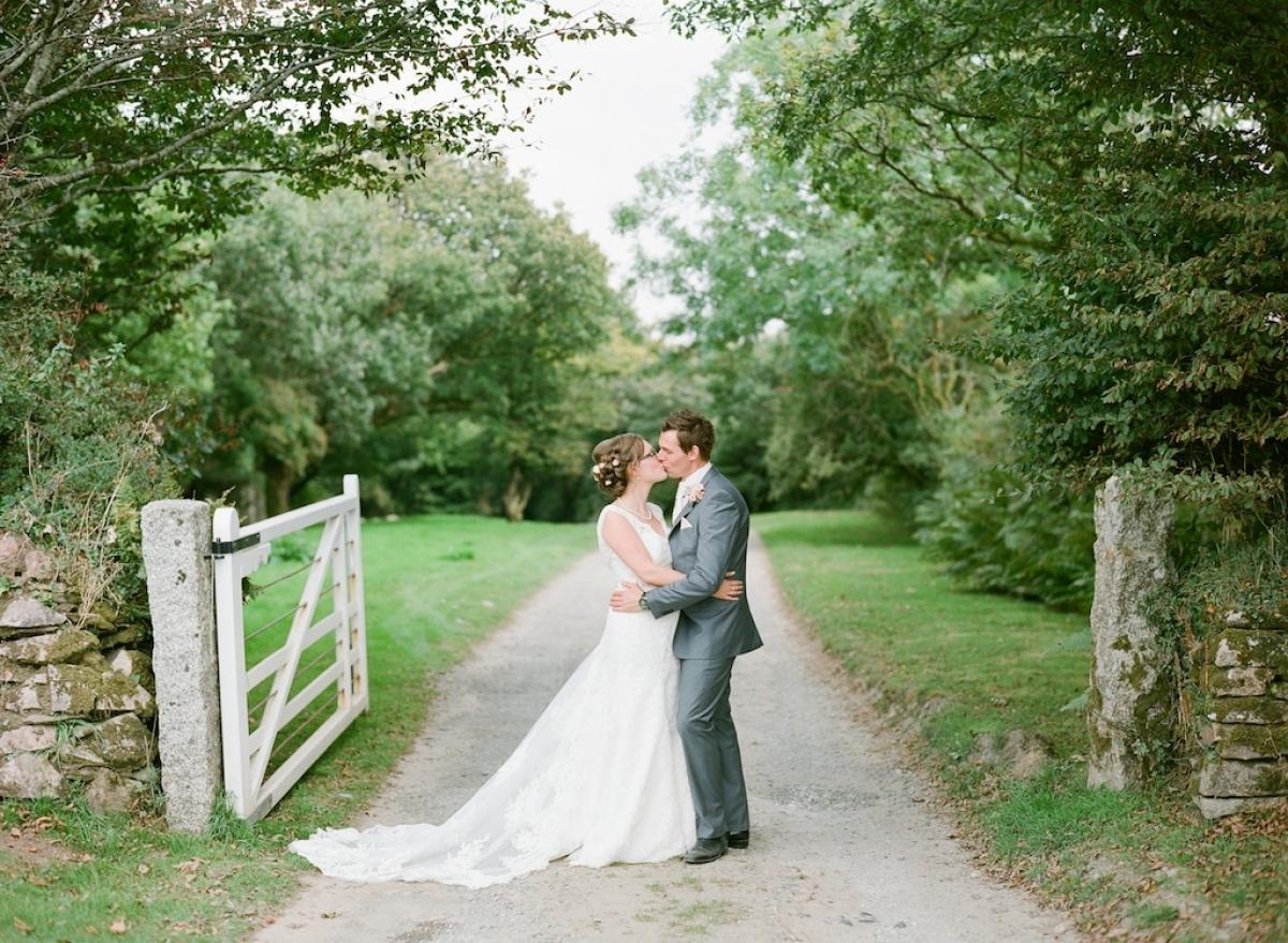 Wedding At Trevenna, Cornwall