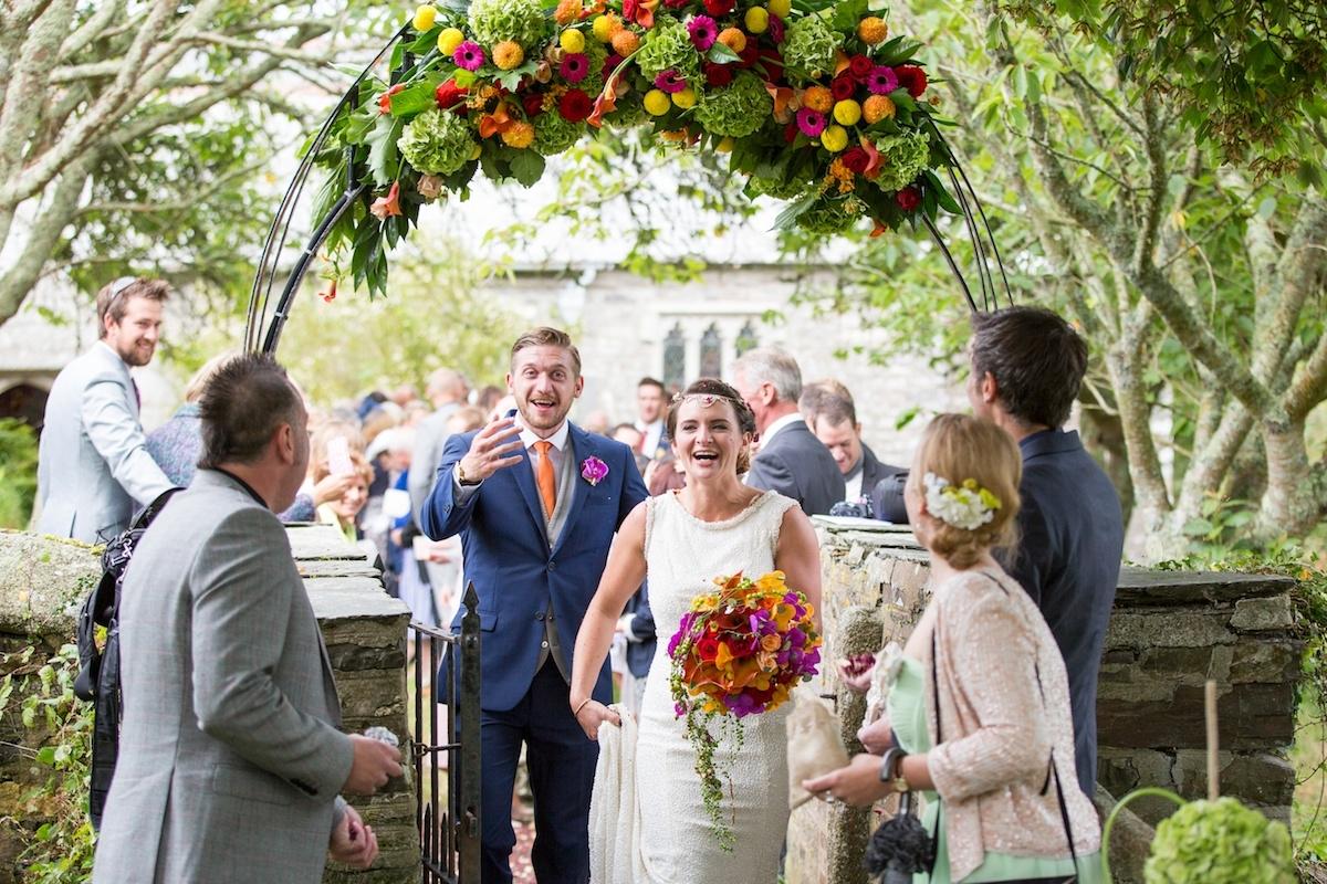 Marquee Wedding Cornwall