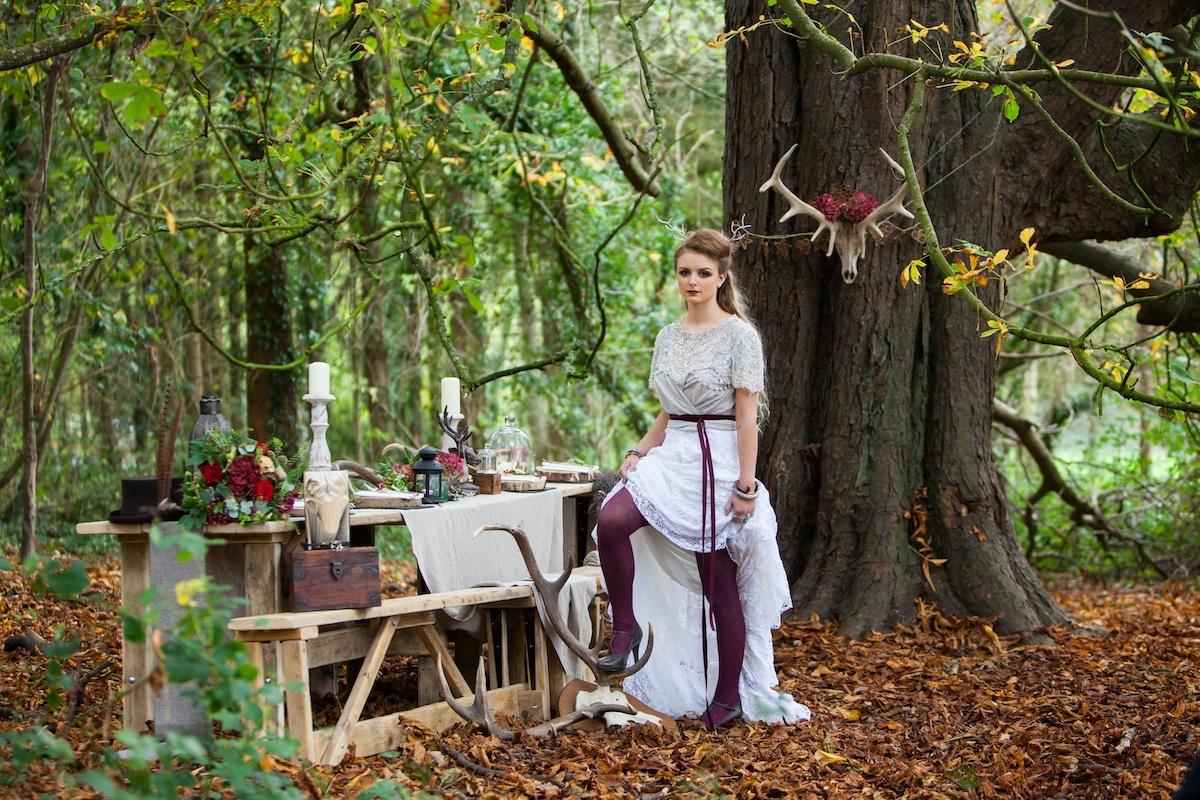 Real Woodland Weddings: Woodland Weddings Devon