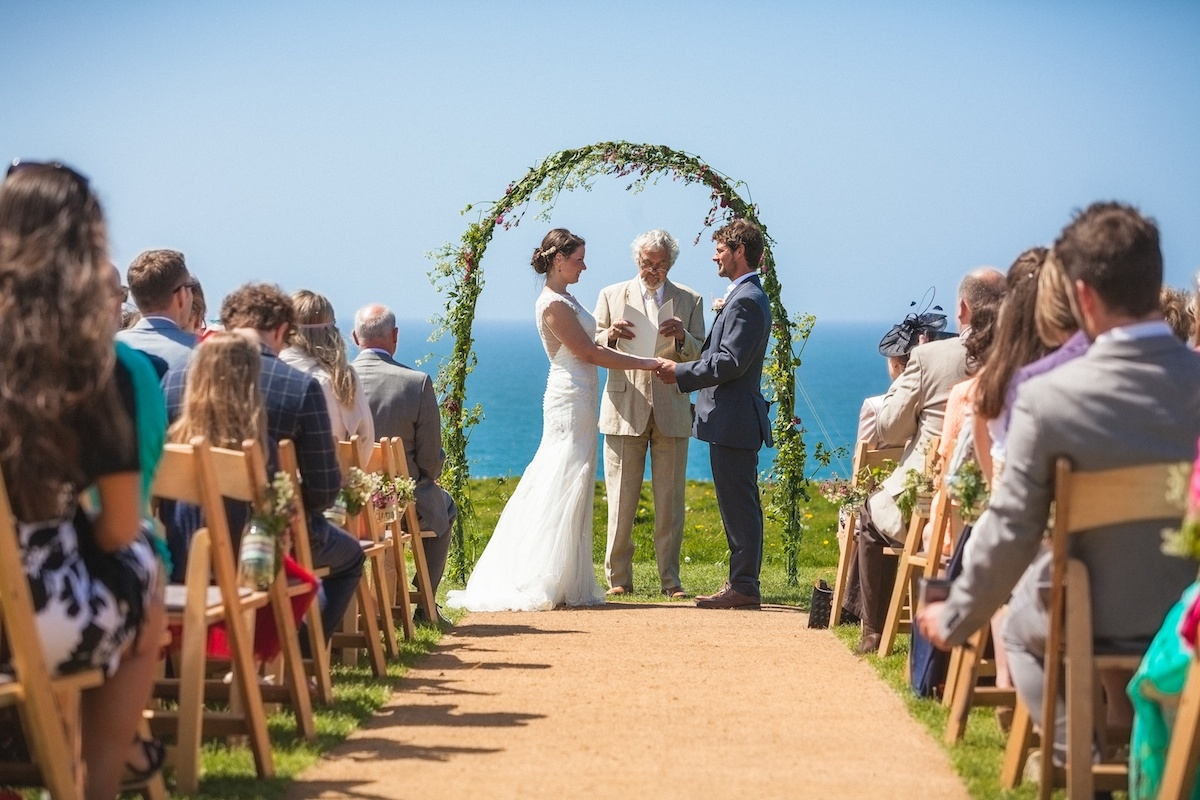 World Inspired Tents Wedding In Cornwall