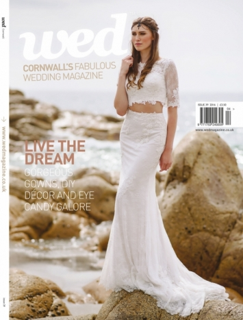 Order a print copy of Cornwall Wed Magazine - Issue 39