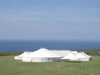 Wedding Marquee Venue in Cornwall - Newdowns Farm