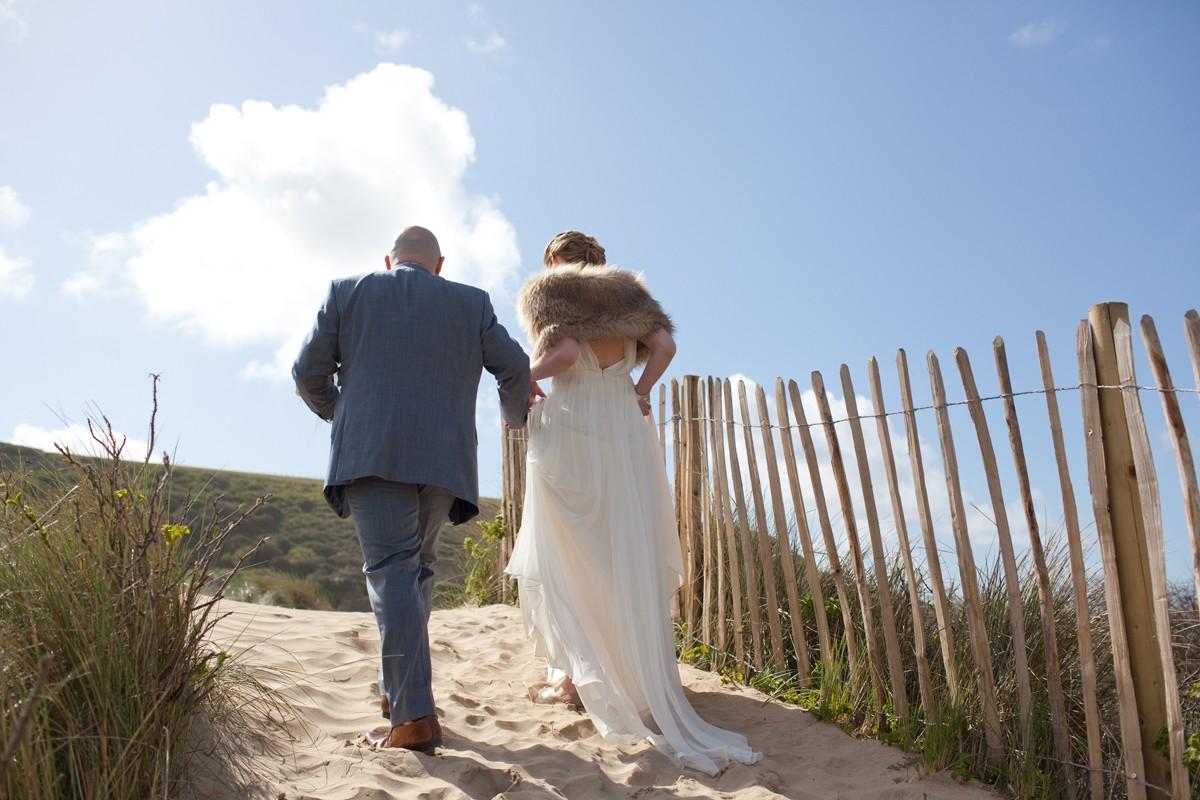 Real Wedding At The Scarlet Hotel, Cornwall