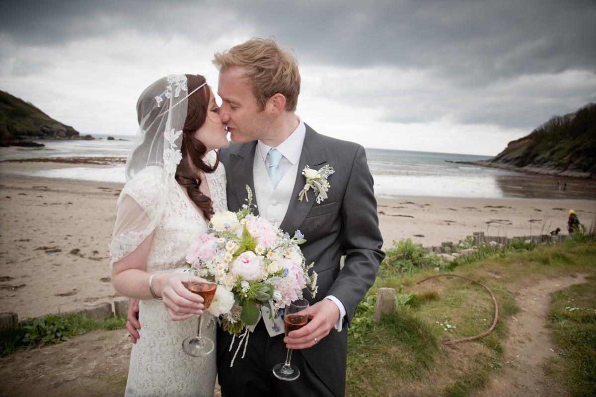 Real Wedding At The Vean, Cornwall