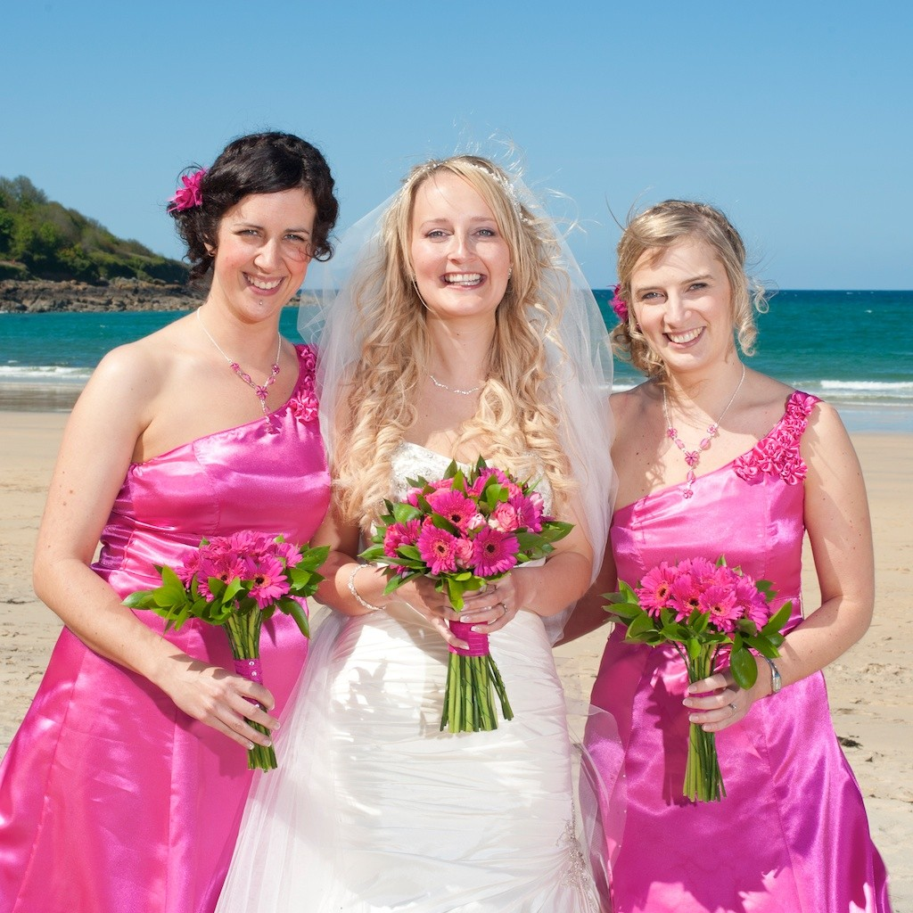 Real Wedding At Chy An Albany Hotel, Cornwall