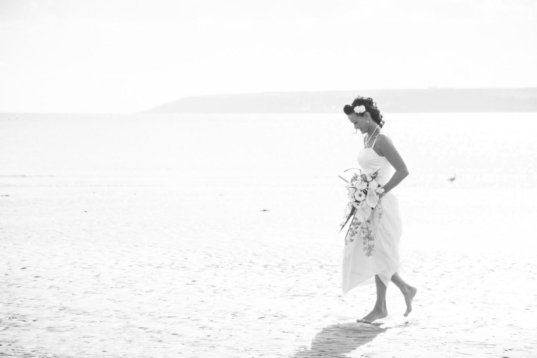 Column beading tulle coral long cream wedding dress for evening
