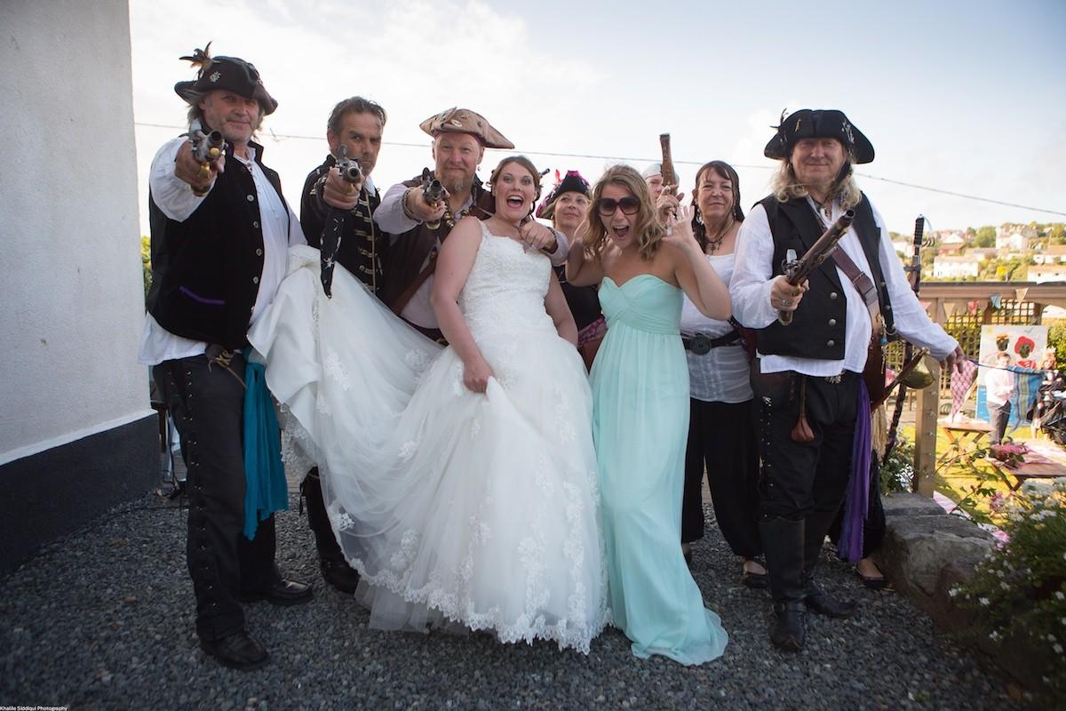 wedding at polpier house cornwall