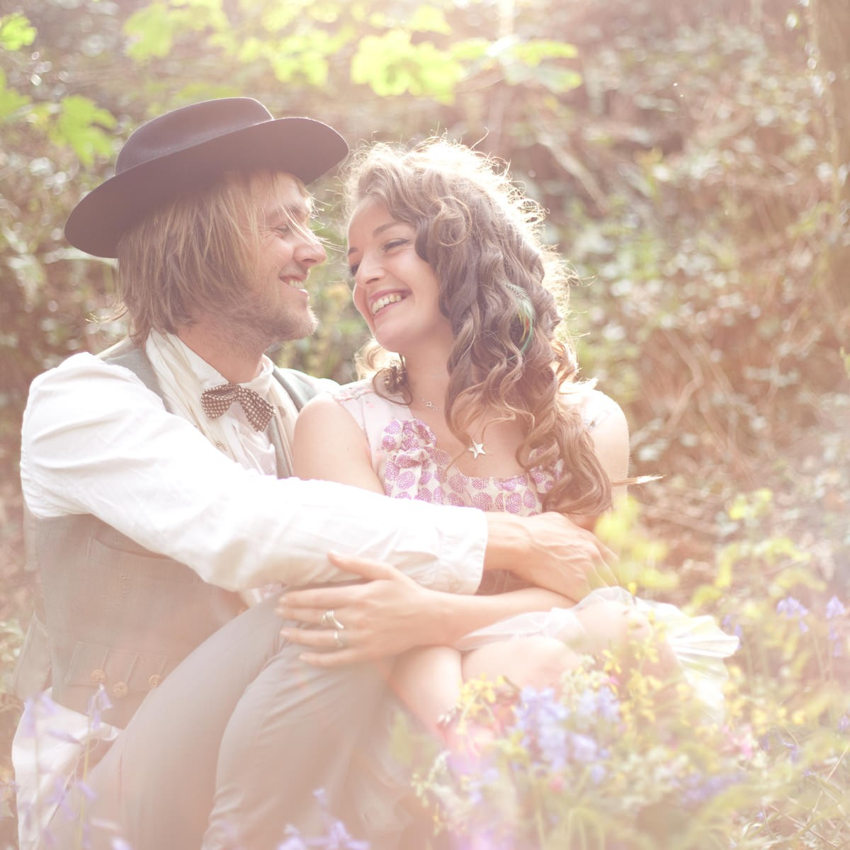 Gypsy Bridal Shoot At Cornish Tipi Weddings