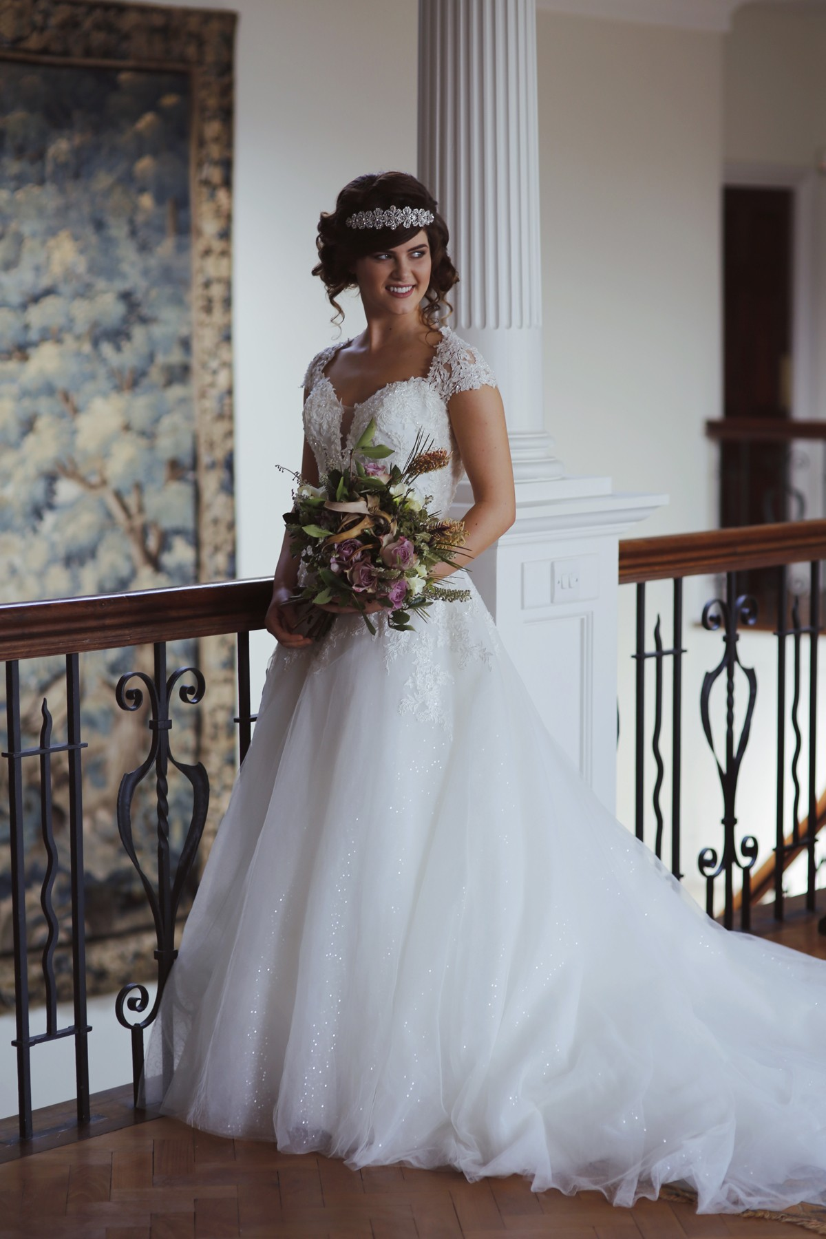 Wedding Dresses Cornwall | Scorrier House | Griffin Photography
