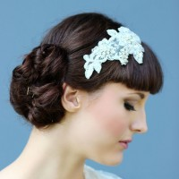 Win a handmade beaded lace hair comb from Holly Young Headwear