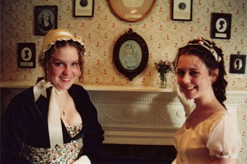 Annalise Harvey Designs Dress for Jane Austen Festival