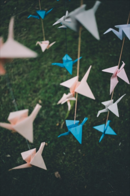 Diy Tutorial Origami Cranes