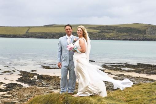 Real Wedding At St Enodoc Church, Cornwall