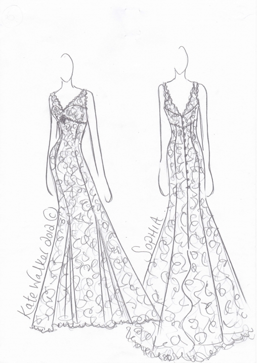 Design Dress Drawing Is there an iconic dress that