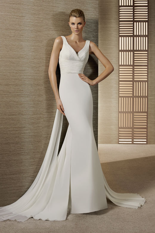 Dressing for body type for Wedding dresses for tall skinny brides