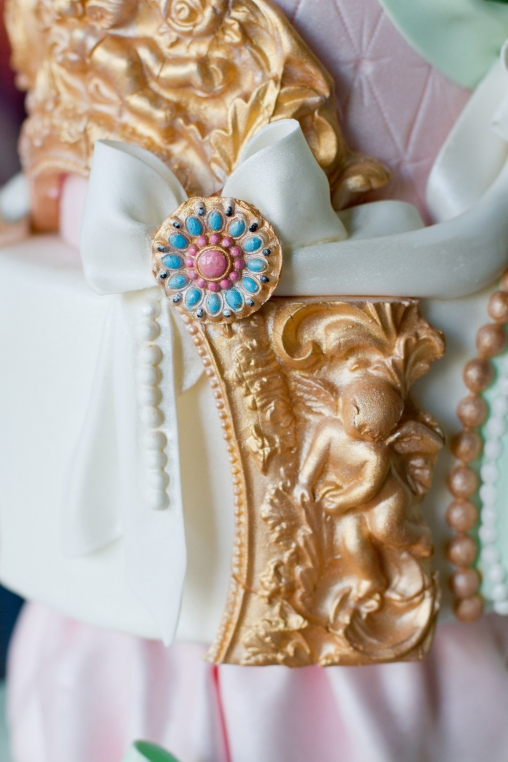 Marie Antoinette Wedding Style At Powderham Castle Devon