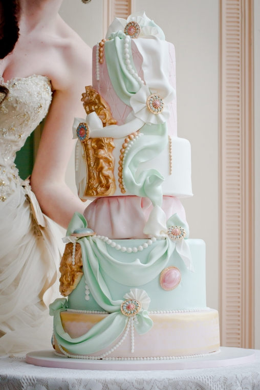 Marie Antoinette Wedding Style At Powderham Castle Devon