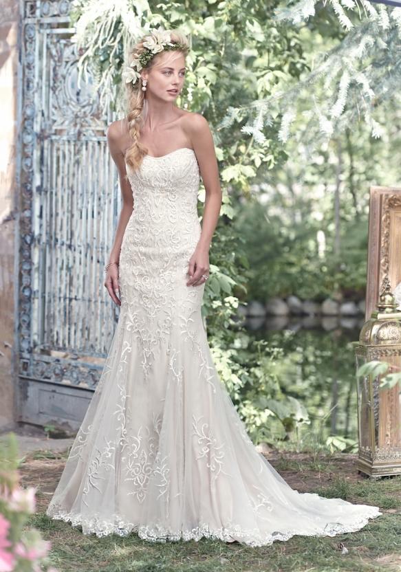 Nude wedding dresses maggie sottero amanda k bridal junglespirit Gallery