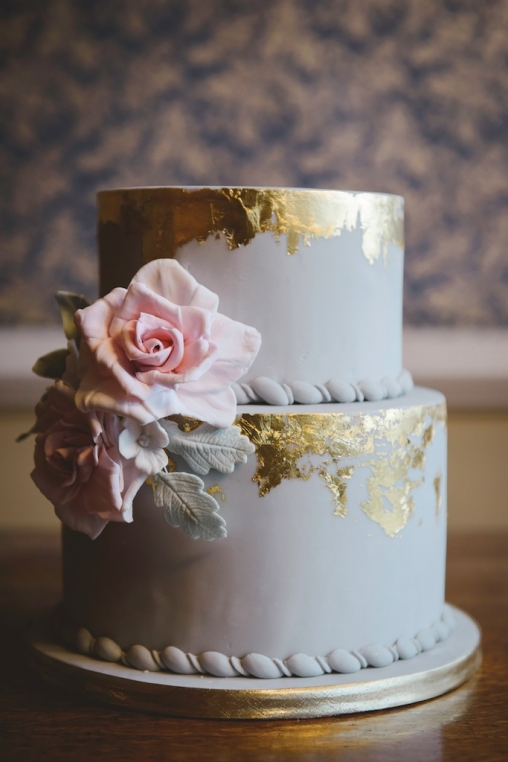 edible gold leaf wedding cake wedding cakes in cornwall and 13906
