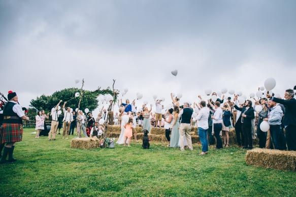 Wedding at The Barn, Devon